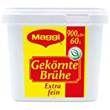 Maggi Gekörnte Brühe Extra fein, 1er Pack (1 x 900g Gastro Box)