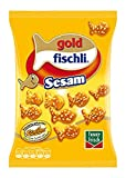 funny-frisch goldfischli Sesam, 10er Pack (10 x 100 g Beutel)