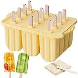 Hopeas Eisformen Silikon 12 Stück Eisformen EIS am stiel BPA Frei...