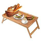 AllRight Betttablett Frühstückstablett für Bett Frühstückstisch...
