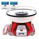Gadgy ® Zuckerwattemaschine für Zuhause | Retro Cotton Candy Machine...