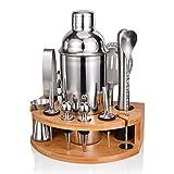 Esmula Cocktail Shaker Set, 750ML Edelstahl Barkeeper Kit...