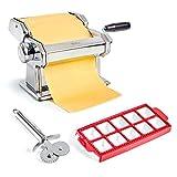 Uno Casa Pasta Maker – Nudelmaschine Manuell – Pasta Maschine mit...