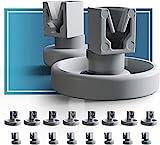 Spülmaschinen Rollen Set für Unterkorb und Oberkorb von Plemont....