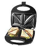 Gotoll Sandwichmaker 750W, Dreieckig Sandwiches Toaster Maker,...