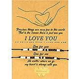 Valentinstag Morse Code Armband Ich Liebe Dich Freundschaft Paar...