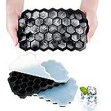AcrossSea Eiswürfelform Silikon kleine Eisformen - 3er Set, insgesamt...