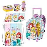 Ariel und Prinzessinnen Rucksack Trolley in 3D, Sportbeutel,...
