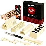 Delamu Sushi Making Kit, Sushi Maker für Anfänger, 8 Formen DIY...
