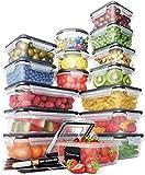 Chef's Path | Vorratsdosen Set aus 16 Frischhaltedosen mit Deckel |...