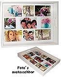 großes Tablett -  für - 9 große Fotos & Bilder  - 2. Wahl -...