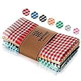 pamuq® Geschirrtücher Baumwolle - 100%   5er Set   45x65cm +...