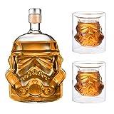 JUSSES Whisky Karaffe Whisky Decanter Wein dekanter whiskey Whisky...
