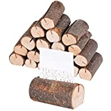 20 Stück Holz Holzsteg Tischkartenhalter Platzkartenhalter Holz...