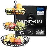 Chefarone Obst Etagere - Obstschale für mehr Platz auf der...