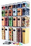 Chef's Path | Vorratsdosen Set aus 24 Frischhaltedosen mit Deckel |...