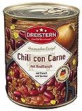 DREISTERN Chili con Carne mit Rindfleisch 800 Gramm | Leckerer Eintopf...