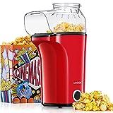 Popcornmaschine 1400W, Heißluft Popcorn Maker Machine für Zuhause,...