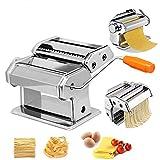 HENGMEI Nudelmaschine aus Edelstahl manuelle Pastamaker Pastamaschine...