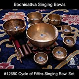 #12650 Cycle of Fifths Singing Bowl Set