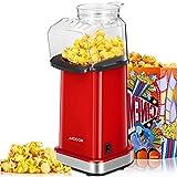 Popcornmaschine, 1400W Automatische Popcorn Maker für Zuhause,...