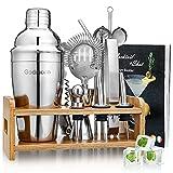 Cocktail Set, Godmorn Edelstahl Cocktail Shaker Set, 15 Teiliges...
