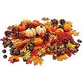 Zsroot Herbst Dekoration Tischdeko Set, 166 Stück Herbstdeko Zubehör...