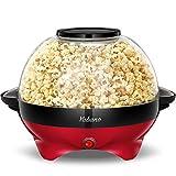 Yabano Popcornmaschine für Zuhause, Popcorn Maker Machine mit Zucker...