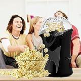 Alsideso Popcornmaschine 1200W Heißluft Popcorn Maker Automatische...