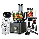 TopStrong Küchenmaschine 1100W, Küchenmaschine Multifunktional, 3,2L...