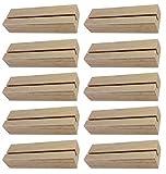 BO-LIFE 10 Stück Fotohalter/Kartenhalter aus Holz sind funktional....