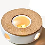 TAMUME Klassisches Porzellan Teekanne Wärmer mit Sicher zu benutzen...