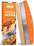 Pizza Mondo® Pizzaschneider - Profi Pizzamesser (Pizza Cutter)...