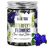 BLUE TEA - Schmetterlingserbsenblüte Tee - 50 Gramm   für Eistees,...