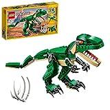 LEGO 31058 Creator Dinosaurier Spielzeug, 3in1 Modell mit T-Rex,...