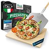Pizza Divertimento - [DAS ORIGINAL - Pizzastein für Backofen &...