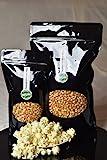 Premium Popcorn Kinopopcorn frische Beutel XL 1:46 Popvolumen (1 Kg...