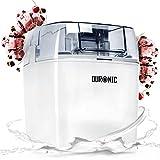 Duronic IM540 Eismaschine | Gefrierbehälter mit 1,5 L...
