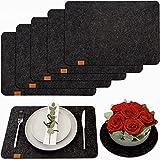 DINING concept® Premium Tischset aus Filz - rutschfest & abwaschbar -...