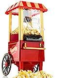 Gadgy Popcorn Maschine   Retro Popcorn Maker   Heissluft Ohne Fett...