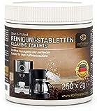 Coffeeano 250 Reinigungstabletten für Kaffeevollautomaten und...
