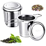 Teesieb für Losen Tee, 304 Edelstahl Teefilter, Ultra Fein Mesh Teeei...