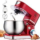 Küchenmaschine Knetmaschine 6L, 1000W Reduzierte Geräusche...
