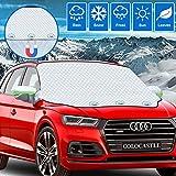 Frontscheibenabdeckung Auto, Windschutzscheibenabdeckung Winter,...