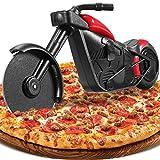 Motorrad Pizzaschneider, Lustige Pizza Schneider Edelstahl Kunststoff...