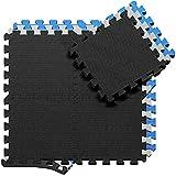 BeMaxx Schutzmatten Set Puzzlematte Bodenschutz Matte: Puzzle...