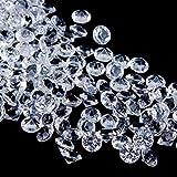 Faburo 3000 Stück Deko Diamanten Hochzeit Streudeko 6mm ,Transparent...